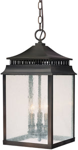 Capital Lighting Sutter Creek 3-Light Outdoor Old Bronze 9116OB