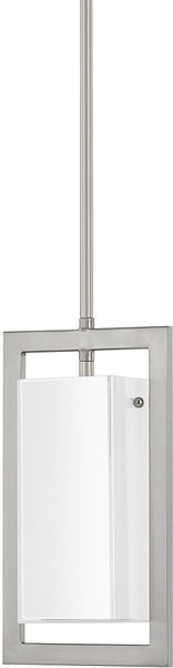 Capital Lighting Tahoe 1-Light Mini-Pendant Brushed Nickel 4751BN153