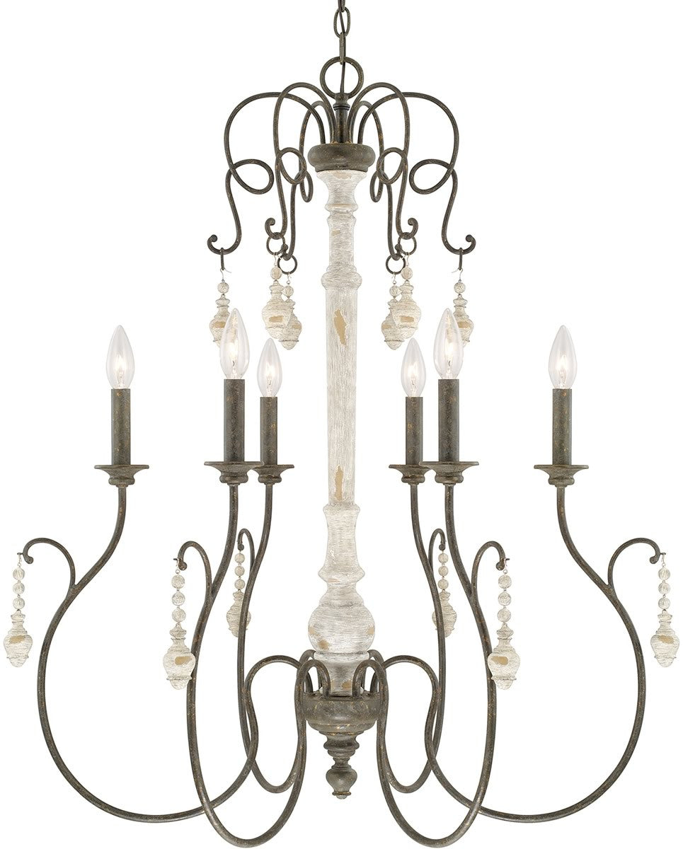 save on lighting. Save On Capital Lighting Vineyard 6-Light Chandelier French Country 410362FC - LampsUSA