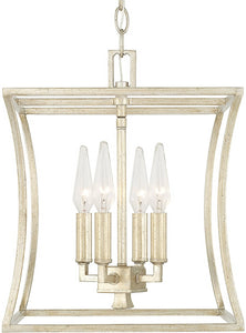 Capital Lighting Westbrook 4-Light Foyer Winter Gold 510141WG