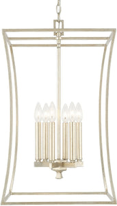 Capital Lighting Westbrook 6-Light Foyer Winter Gold 510161WG