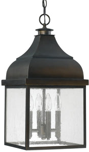 Westridge 4-Light Outdoor Hanging Lantern Old Bronze