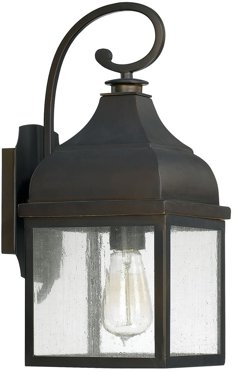 Westridge 1-Light Outdoor Wall Lantern Old Bronze