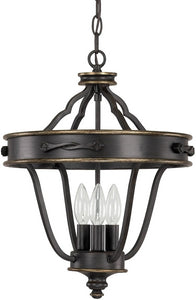 Capital Lighting Wyatt 3-Light Dual Mount Foyer Surrey 9001SY