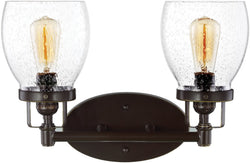 0-013047>Belton 2-Light Bath Vanity Heirloom Bronze