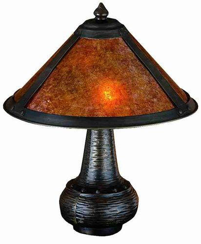 "14""H Mica  Table Lamp"