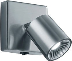 0-000199>Cayman LED Wall/Ceiling Light Nickel-Matte