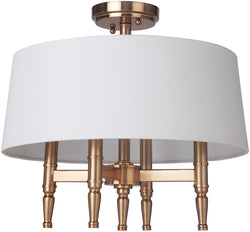 0-002795>Ella 4-Light Semi Flush Satin Brass