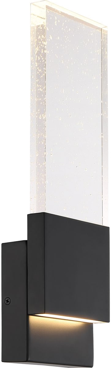 Ellusion 1-Light Vanity & Wall Matte Black