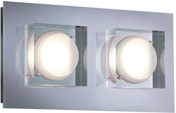 0-002055>Brooklyn LED Wall Sconce Chrome