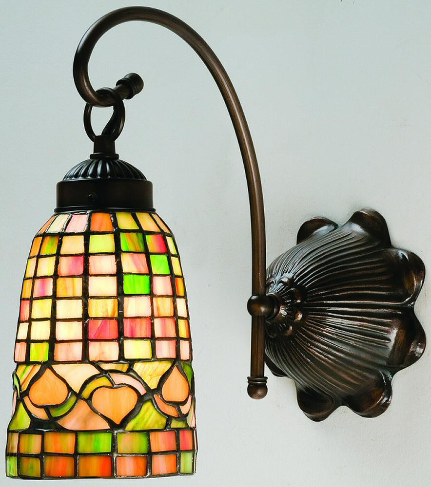 "6""W Autumn Tiffany Wall Sconce"