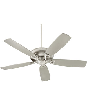 "62""W Alto Patio Patio Ceiling Fan Satin Nickel"