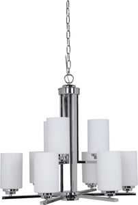 Albany 9-Light Chandelier Chrome