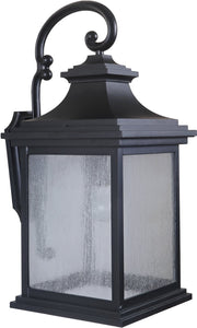0-029760>Gentry 1-Light Large Outdoor Wall Light Midnight