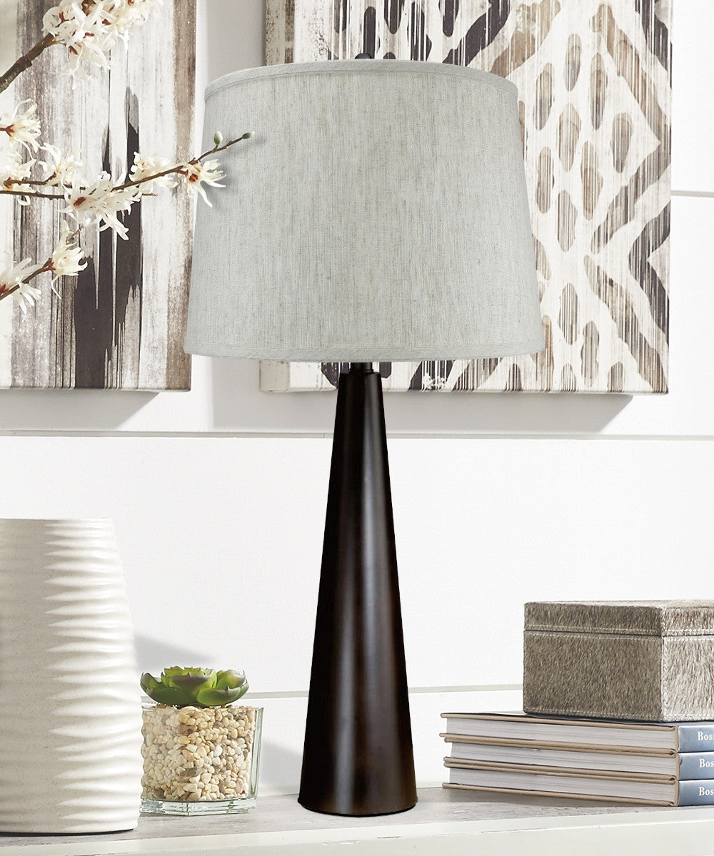 "27.7""H Pascal Table Lamp with Charlotte Shade"