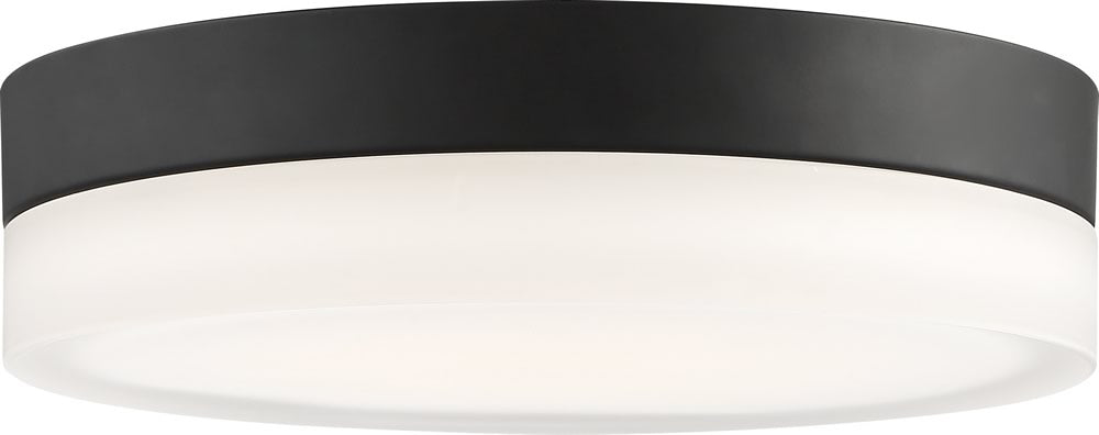 "9""W Pi 1-Light Close-to-Ceiling Black"