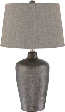 "27""H Clayton 1-light Table Lamp Bronze Finished"