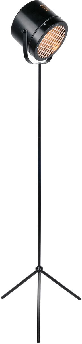 Lucine 1-light Floor Lamp Black