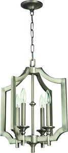 0-007345>Lisbon 4-Light Foyer Light Antique Nickel