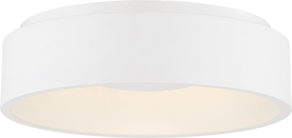 "23""W Orbit 1-Light Close-to-Ceiling White"