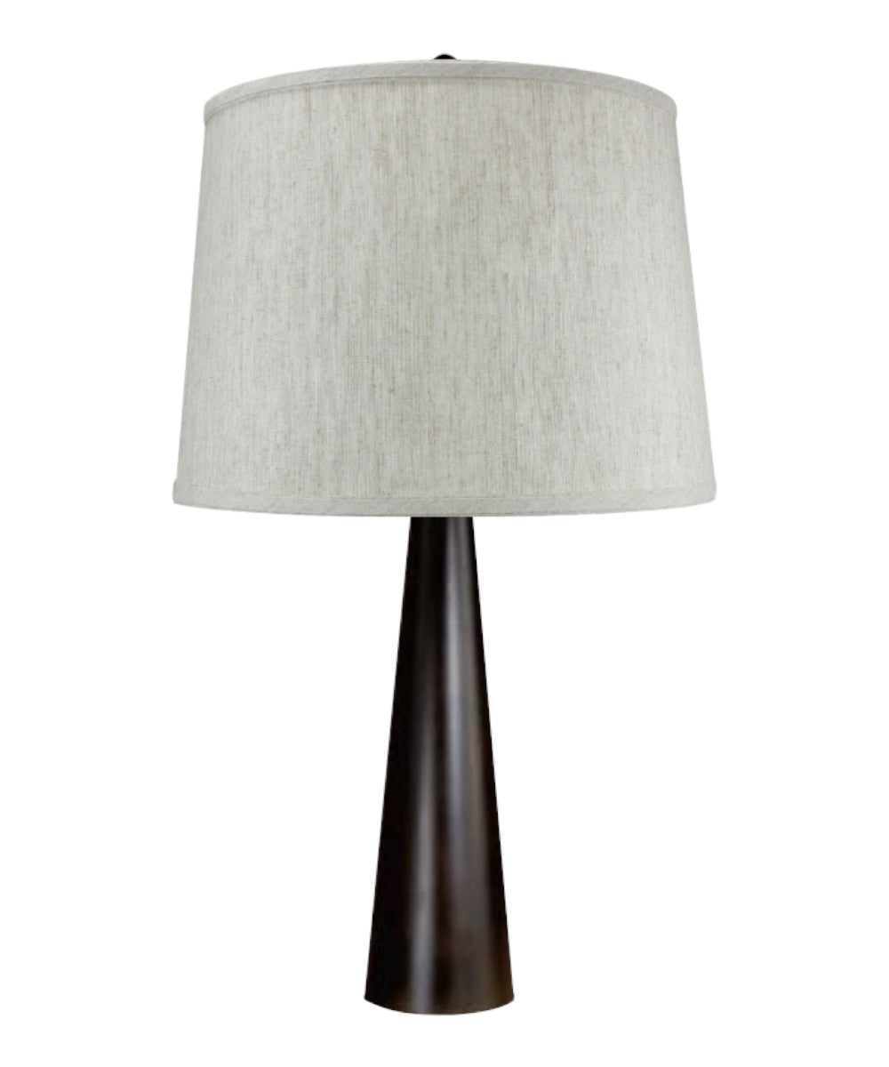 "18""H Pascal Table Lamp with Charlotte Shade"