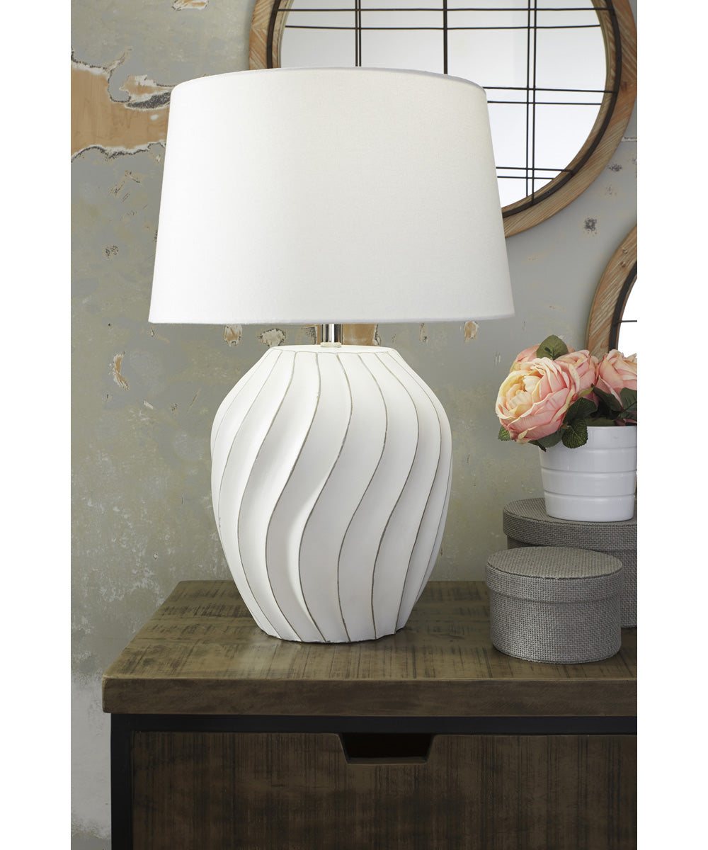 "26""H Hidago Paper Table Lamp (1/CN) White"