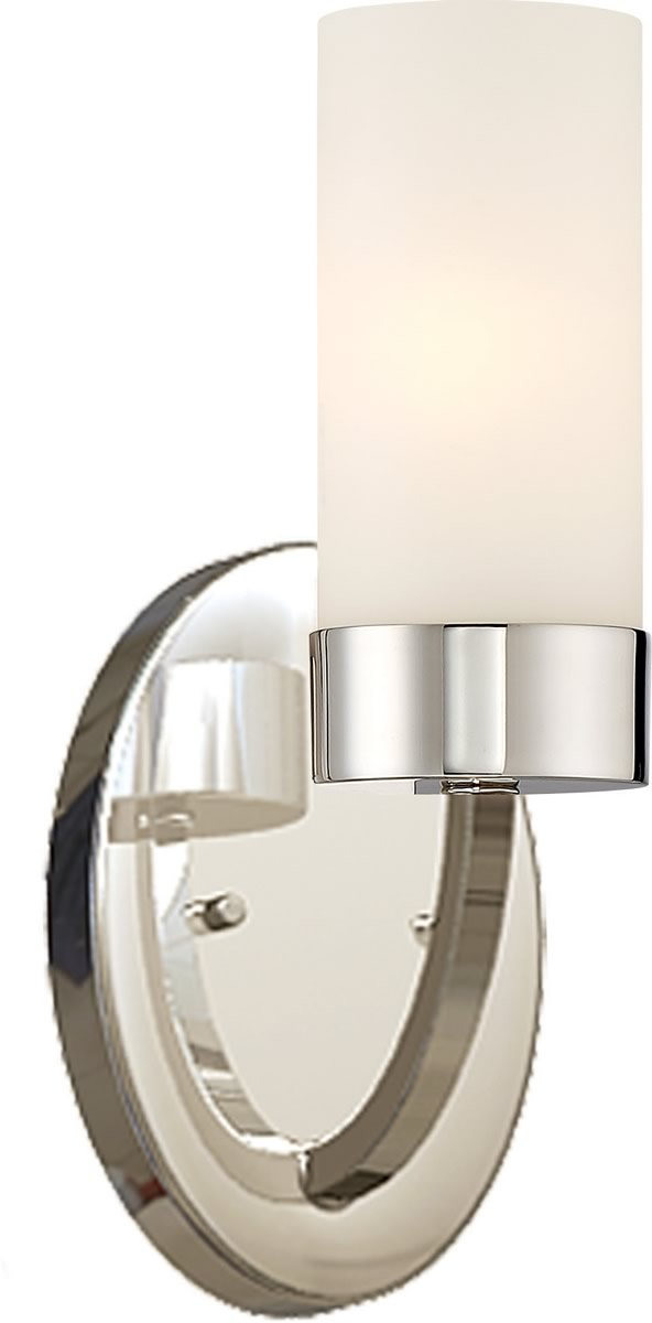 "5""W Denver 1-Light Vanity & Wall Polished Nickel"