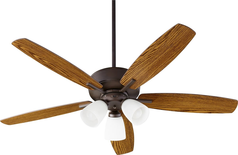 "52""W Breeze 3-light LED Ceiling Fan Oiled Bronze"