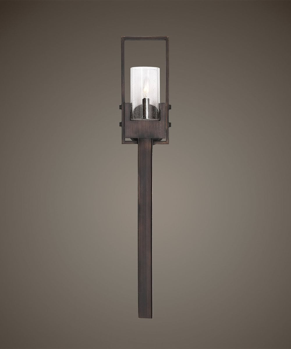 "7""W Pinecroft Rustic 1 Light Sconce"