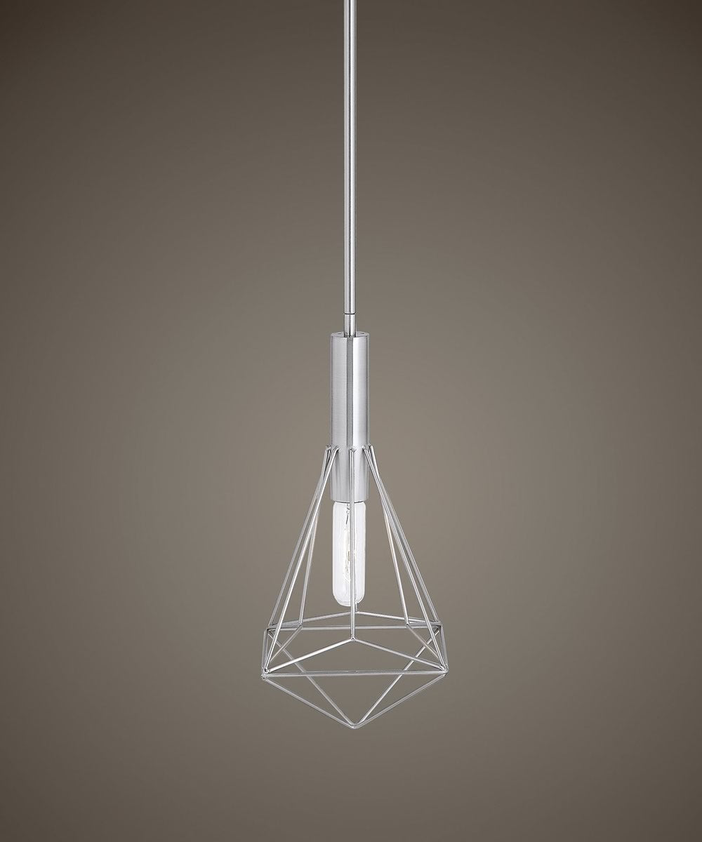 "7""W Proteus 1 Light Geometric Mini Pendant"
