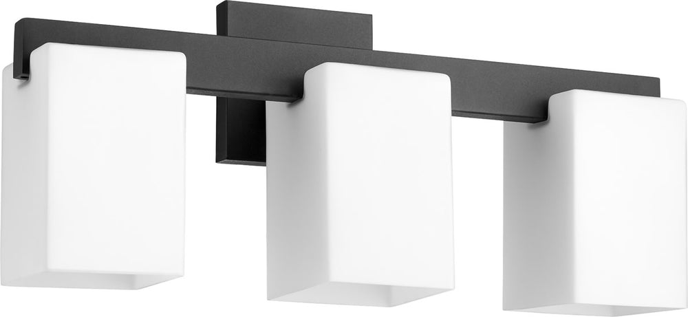 "20""W Modus 3-light Bath Vanity Light Noir"