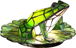 Dale Tiffany Tiffany Frog Accent Lamp Antique Brass TA101231