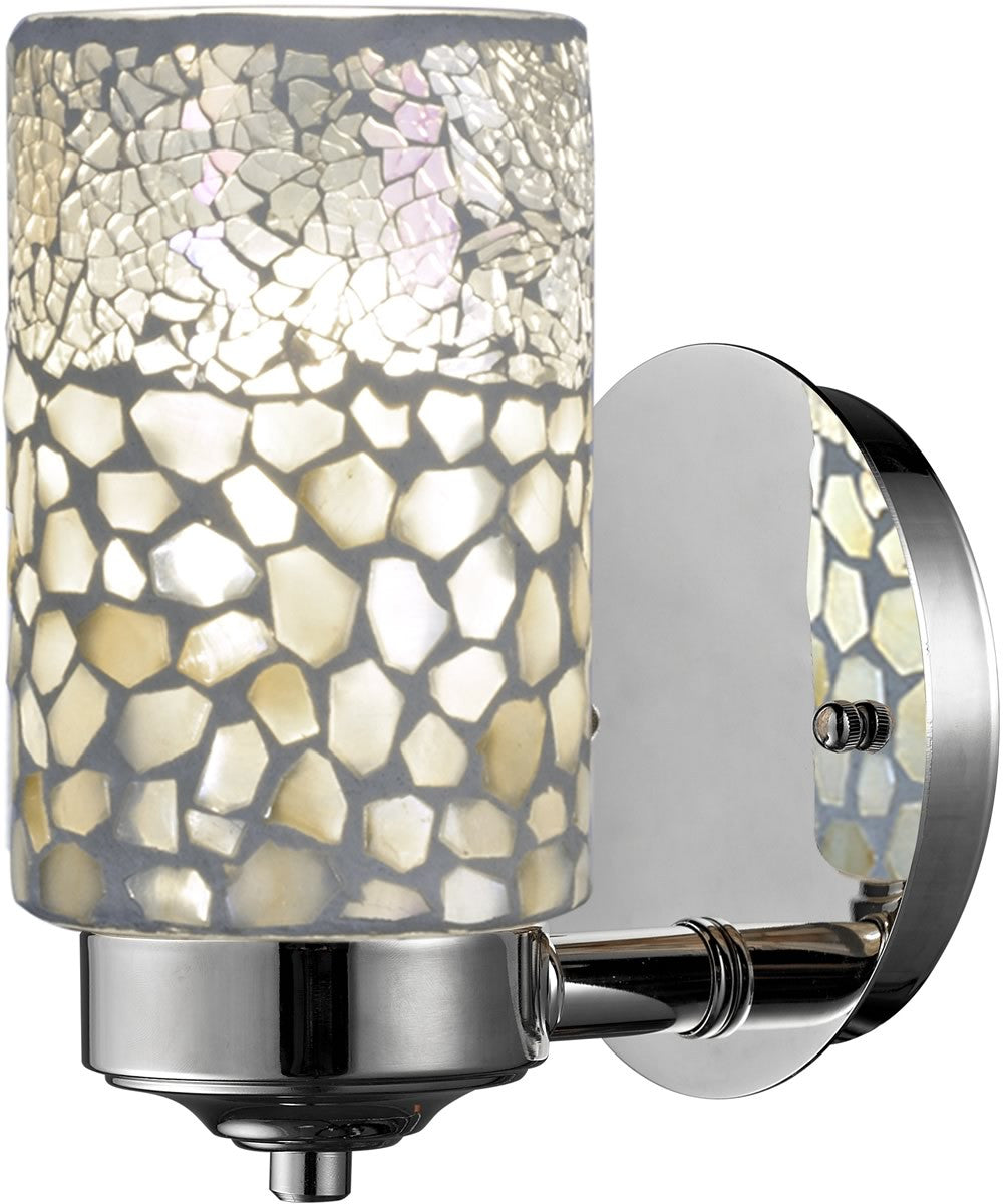 Dale Tiffany Alps Wall Sconce Brushed Nickel Tw13018 Lampsusa
