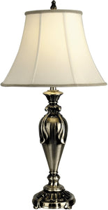 Dale Tiffany 1-Light 3-Way Table Lamp Antique Pewter PT90286