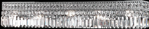 Dale Tiffany 5-Light Crystal Wall Sconce Polished Chrome GH10331