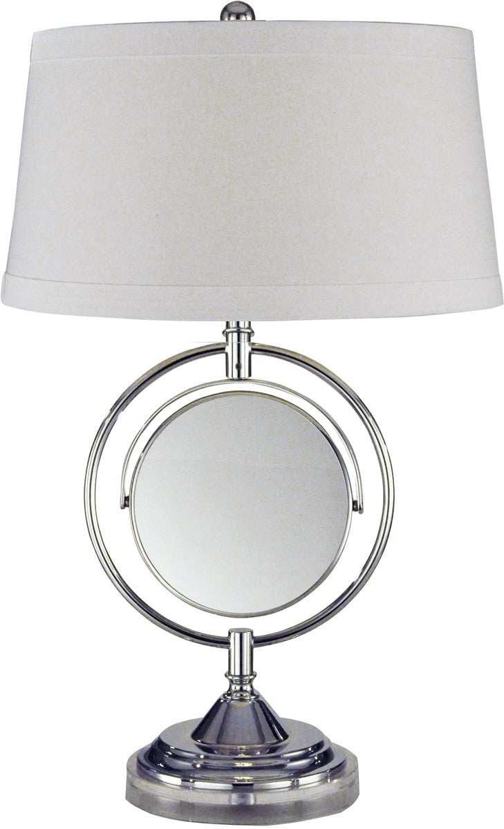 "25""h Contessa 1-Light Table Lamp Chrome"