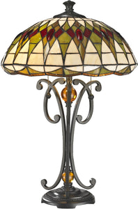 Dale Tiffany Converse Tiffany Table Lamp Antique Bronze TT14243