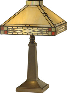 Dale Tiffany Cottonwood 2-Light Table Lamp Mica Bronze TA10490