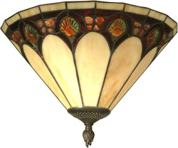 Dale Tiffany 1-Light Tiffany Wall Sconce Antique Bronze TW11154