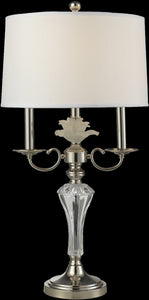 Dale Tiffany Crystal Lake Crystal Table Lamp Antique Bronze GT14275