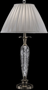 Dale Tiffany Cutler Bay Crystal Table Lamp Antique Bronze GT13263