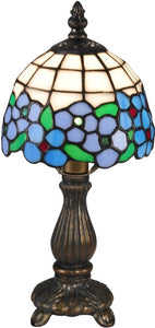 Daisy Tiffany Accent Lamp Antique Bronze