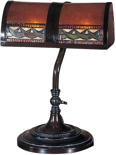 Dale Tiffany Egyptian Desk Lamp Mica Bronze TA100682