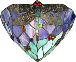Dale Tiffany 1-Light Tiffany Wall Sconce TW12062