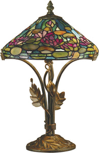 Dale Tiffany Dunkirk 2-Light Table Lamp Antique Bronze  TT101216
