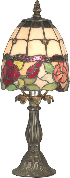 Dale Tiffany Enid Table Lamp Antique Brass TA70711