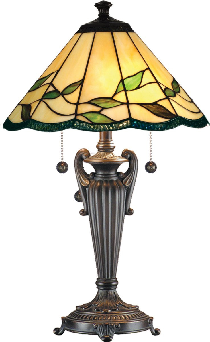 "26""H Falhouse 2-Light Table Lamp Antique Bronze"