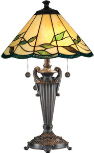 Dale Tiffany Falhouse 2-Light Table Lamp Antique Bronze TT101118