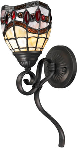 Dale Tiffany Fall River 1-Light Wall Sconce Dark Bronze TW12424