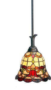 "7""w Freeport Mini Pendant Antique Bronze"